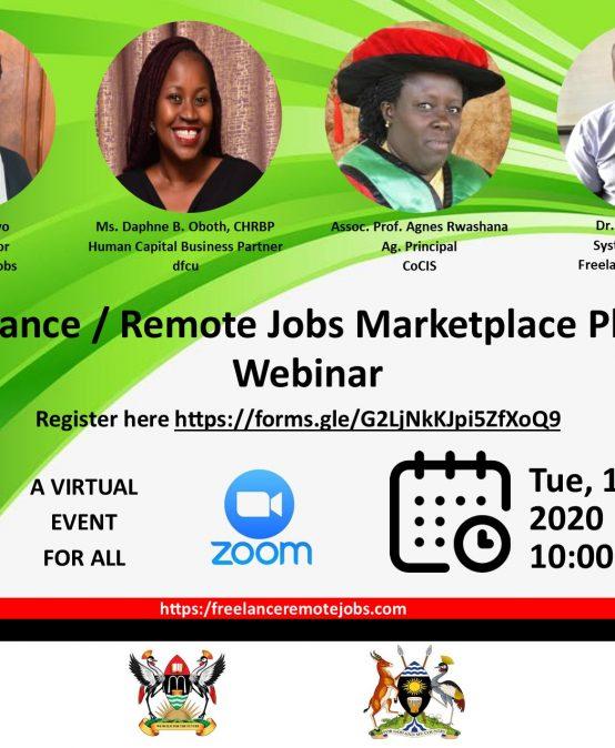 Research dissemination seminar on A Freelance/Remote Jobs Marketplace Platform